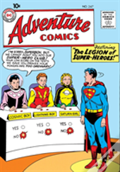 Legion Of Super-Heroes The Silver Age Vol. 1
