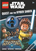 Lego Star Wars: Quest For The Kyber Saber (Activity Book With Minifigure)