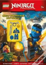 Lego(R) Ninjago Sky Pirates Attack! (Activity Book With Minifigure)