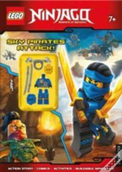 Wook.pt - Lego(R) Ninjago Sky Pirates Attack! (Activity Book With Minifigure)