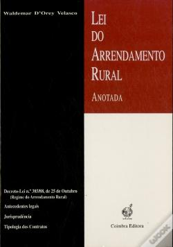 Wook.pt - Lei do Arrendamento Rural - Anotado