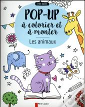 Les Animaux - Pop-Up A Colorier Et A Monter