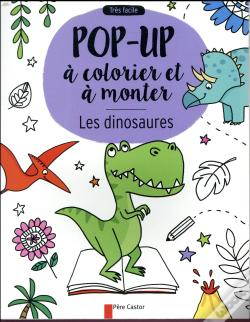 Wook.pt - Les Dinosaures - Pop-Up A Colorier Et A Monter