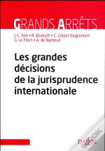Les Grandes Décisions De La Jurisprudence Internationale