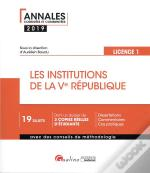 Les Institutions De La Ve Republique - L1-S2 - 3eme Edition
