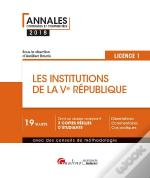 Les Institutions De La Ve Republique - L1-S2 2eme Edition