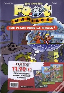 Wook.pt - Les Petits Foot Maniacs - Pack Decouverte Tome 1 - 2 - 3