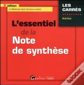 L'Essentiel De La Note De Synthese 9eme Edition