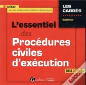 L'Essentiel Des Procedures Civiles D'Execution - 8eme Edition