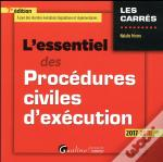 L'Essentiel Des Procedures Civiles D'Execution 7eme Edition