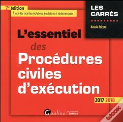 Wook.pt - L'Essentiel Des Procedures Civiles D'Execution 7eme Edition