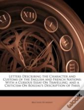 Letters Describing The Character And Cus