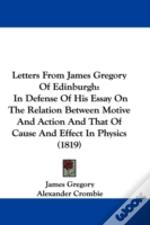 Letters From James Gregory Of Edinburgh