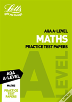 Wook.pt - Letts Aqa A-Level Maths Practice Test Papers