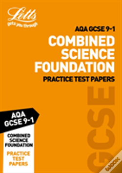 Wook.pt - Letts Aqa Gcse Combined Science Foundation Practice Test Papers