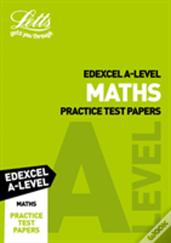 Wook.pt - Letts Edexcel A-Level Maths Practice Test Papers