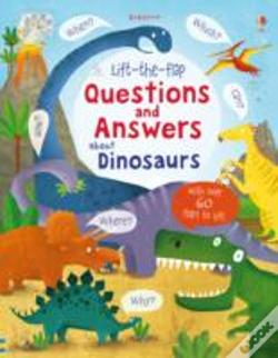 Wook.pt - Lift-The-Flap Questions And Answers About Dinosaurs