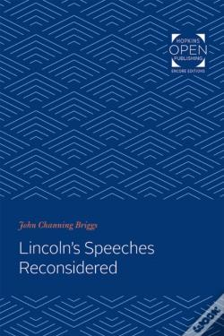 Wook.pt - Lincoln S Speeches Reconsidered
