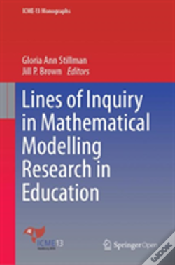 Wook.pt - Lines Of Inquiry In Mathematical Modelling Research In Education