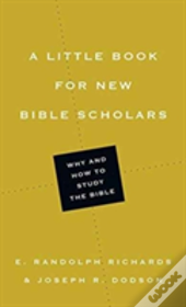 Little Book For New Bible Scholars