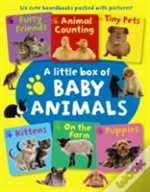 Little Box Of Baby Animals 6book Set