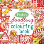 Little Doodling & Colouring Book Red