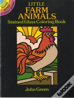 Little Farm Animals Stained Glass