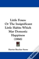 Little Foxes: Or The Insignificant Littl