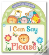 Little Learners I Can Say Please Handle Board Book