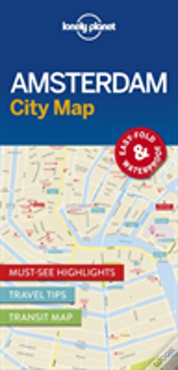 Wook.pt - Lonely Planet Amsterdam City Map