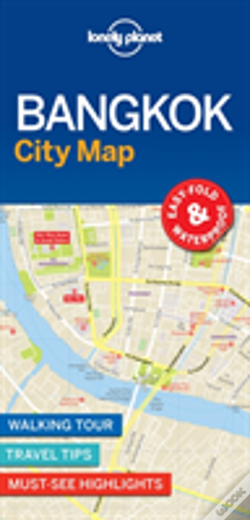 Wook.pt - Lonely Planet Bangkok City Map