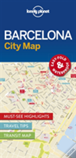 Wook.pt - Lonely Planet Barcelona City Map