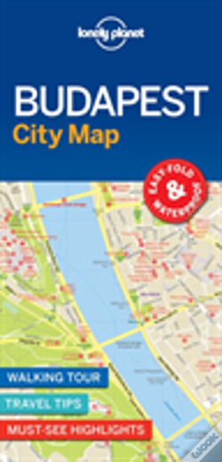 Wook.pt - Lonely Planet Budapest City Map