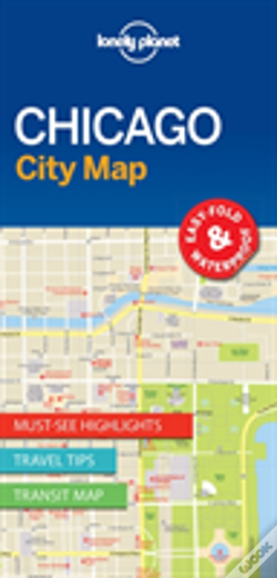 Wook.pt - Lonely Planet Chicago City Map