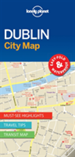 Wook.pt - Lonely Planet Dublin City Map