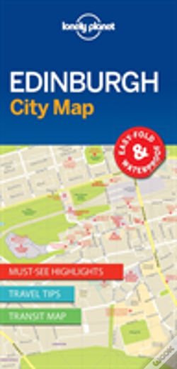 Wook.pt - Lonely Planet Edinburgh City Map