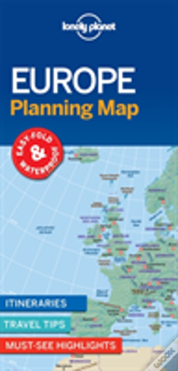 Wook.pt - Lonely Planet Europe Planning Map