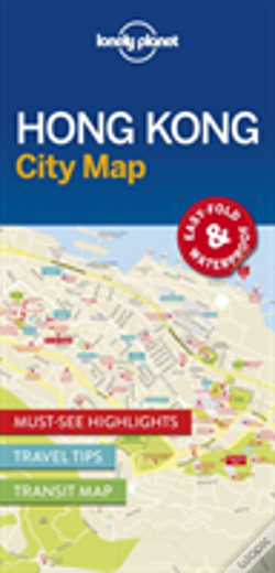 Wook.pt - Lonely Planet Hong Kong City Map