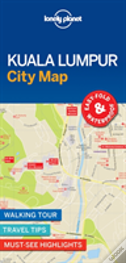 Wook.pt - Lonely Planet Kuala Lumpur City Map