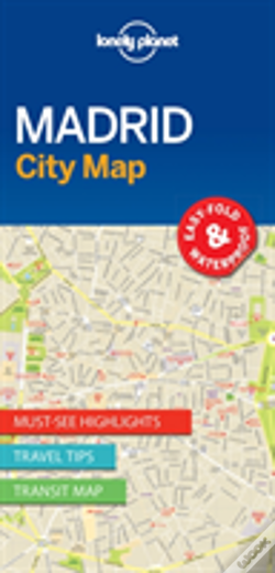 Wook.pt - Lonely Planet Madrid City Map