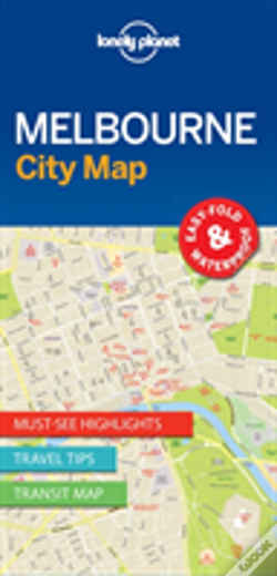 Wook.pt - Lonely Planet Melbourne City Map
