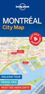 Lonely Planet Montreal City Map