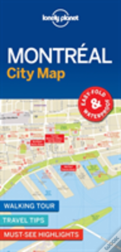 Wook.pt - Lonely Planet Montreal City Map