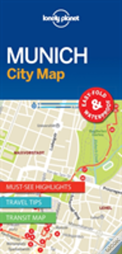Wook.pt - Lonely Planet Munich City Map