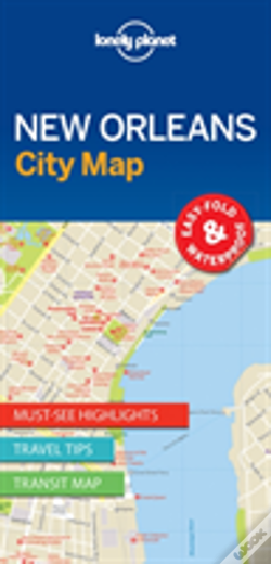 Wook.pt - Lonely Planet New Orleans City Map