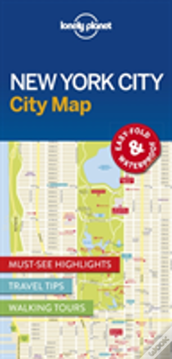Wook.pt - Lonely Planet New York City Map