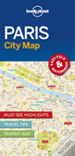 Lonely Planet Paris City Map