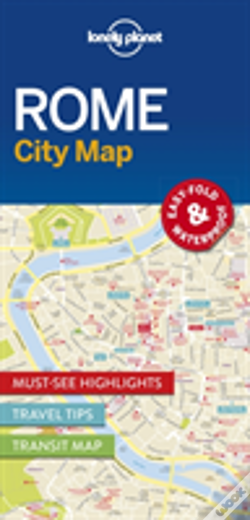 Wook.pt - Lonely Planet Rome City Map