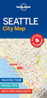 Lonely Planet Seattle City Map