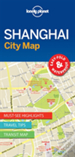 Lonely Planet Shanghai City Map